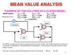 mean value analysis62