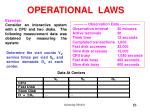operational laws53