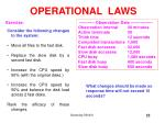 operational laws55