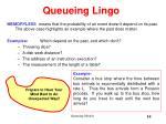 queueing lingo14