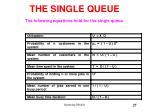 the single queue27