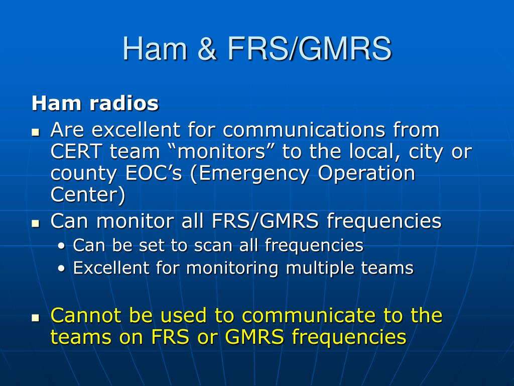 Ham & FRS/GMRS