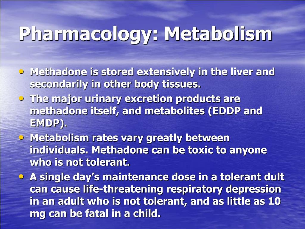 Pharmacology: Metabolism