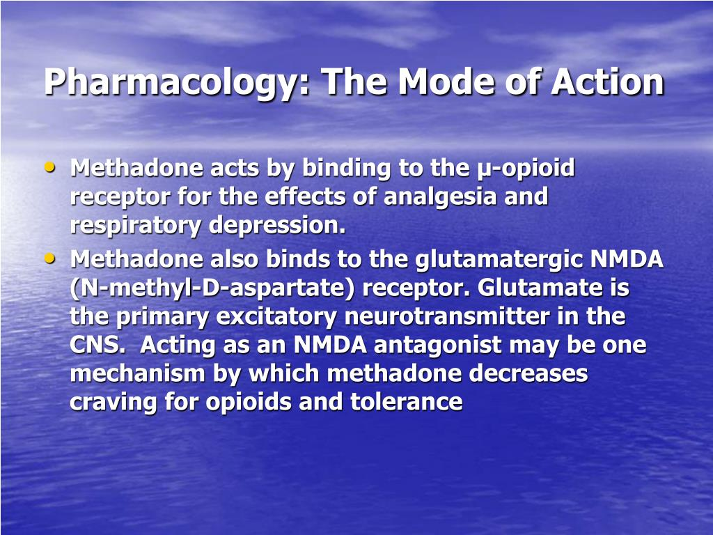 Pharmacology: The Mode of Action
