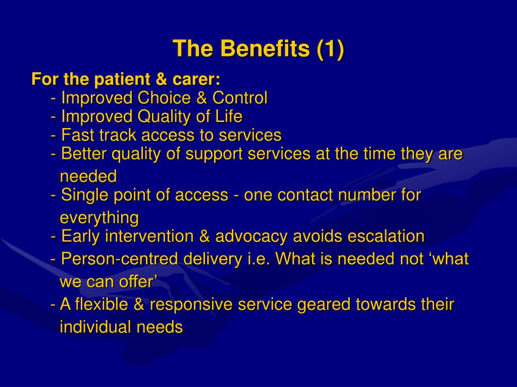 The Benefits (1)