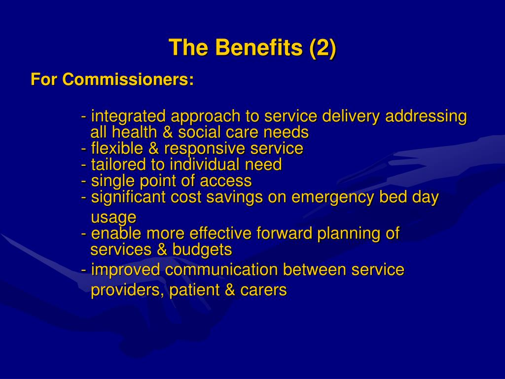 The Benefits (2)