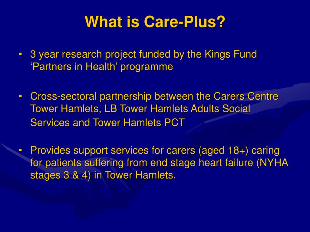 What is Care-Plus?
