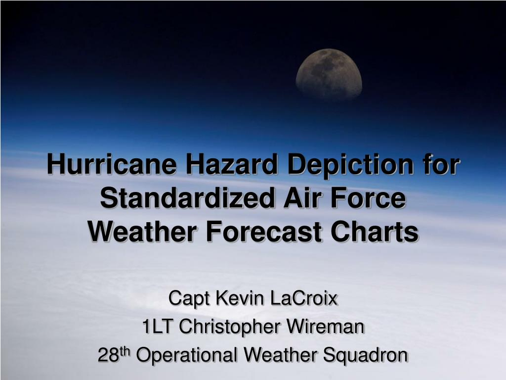 hurricane hazard depiction for standardized air force weather forecast charts l.