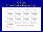 k s test 20 verification region 2 grid