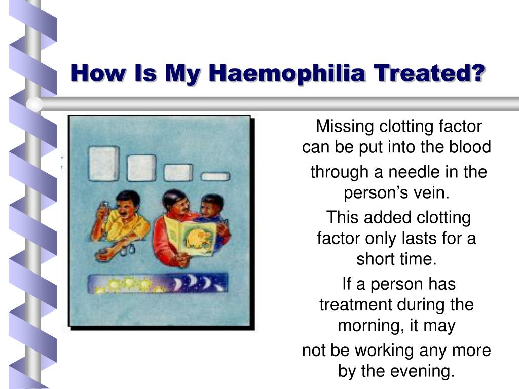 How Is My Haemophilia Treated?