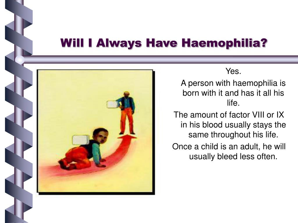 Will I Always Have Haemophilia?