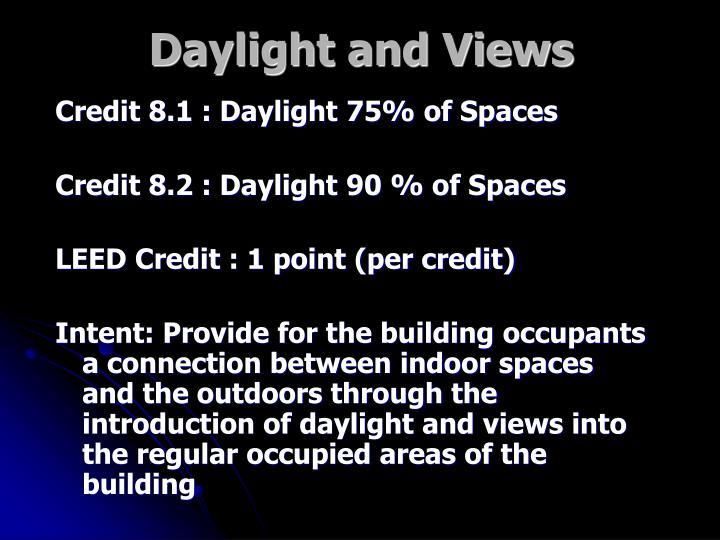 Daylight and Views