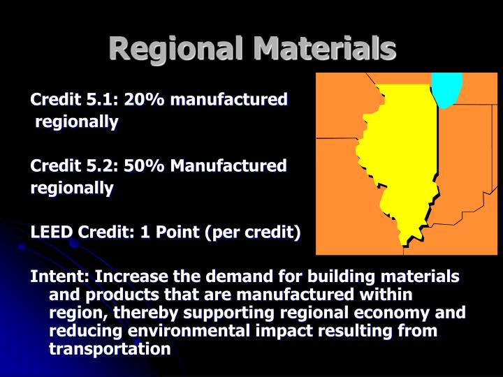 Regional Materials
