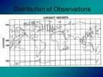 distribution of observations14