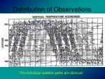 distribution of observations15
