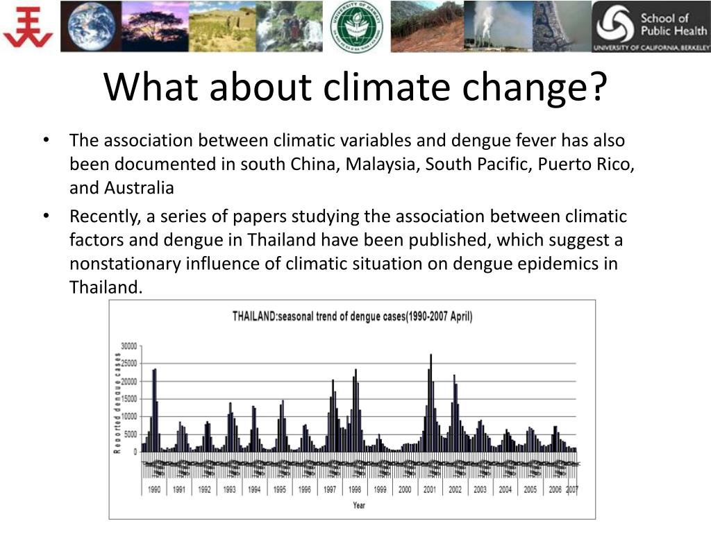 What about climate change?