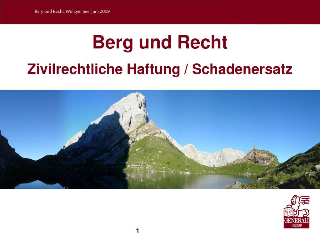 Berg und Recht