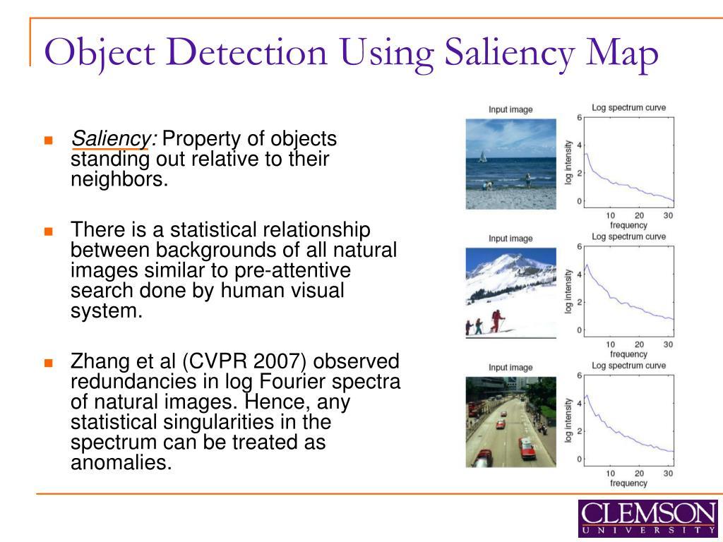 Object Detection Using Saliency Map