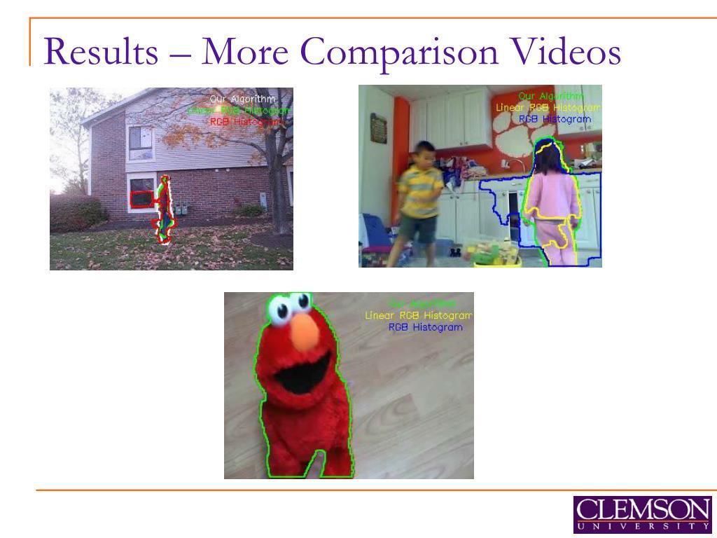Results – More Comparison Videos