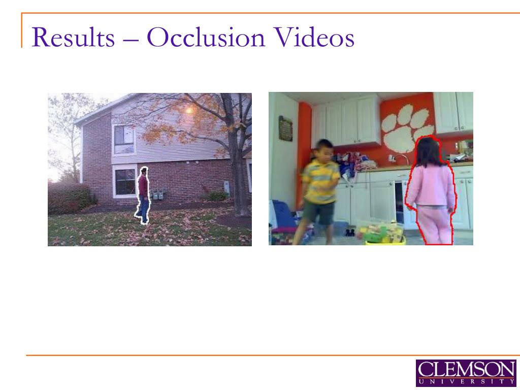 Results – Occlusion Videos