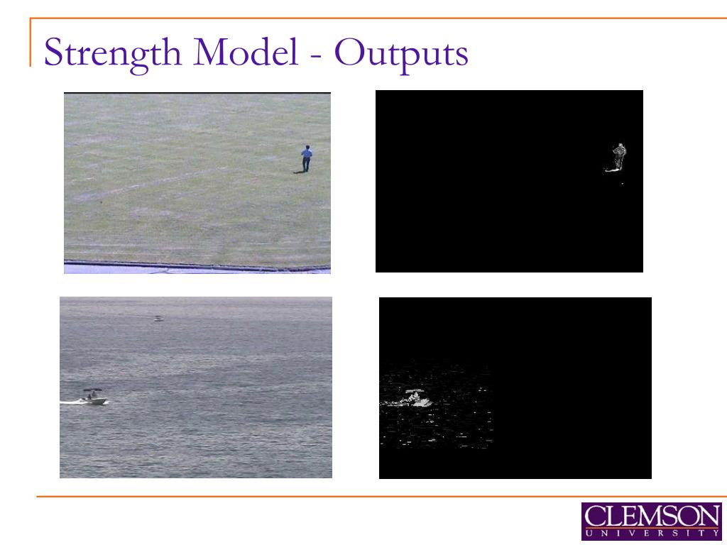 Strength Model - Outputs