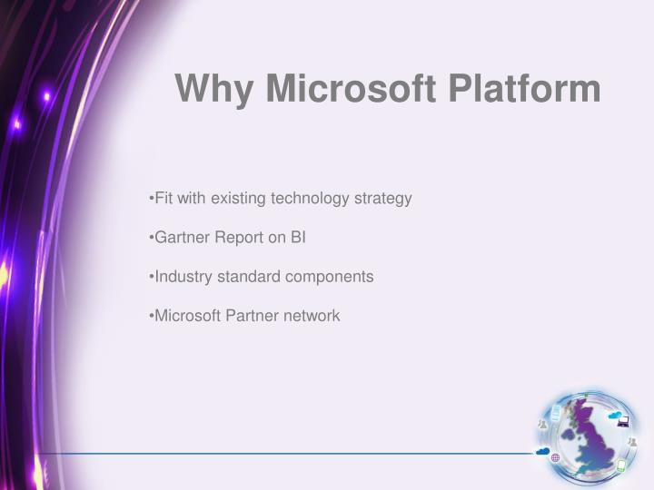 Why Microsoft Platform