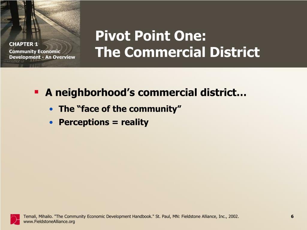 Pivot Point One: