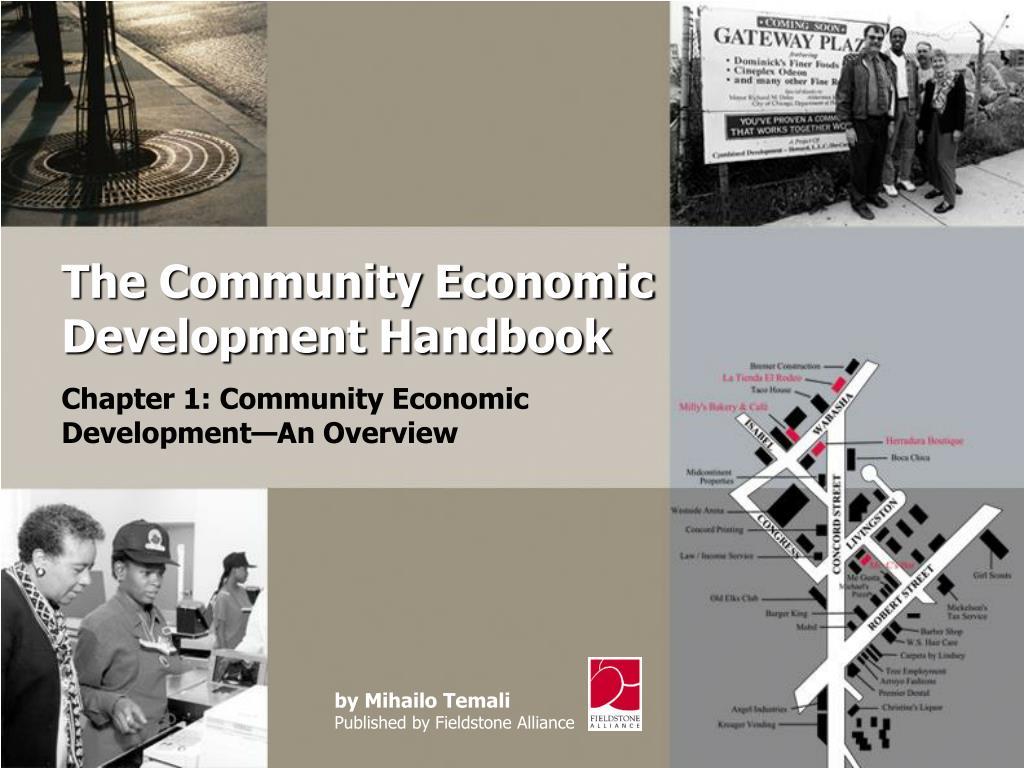 The Community Economic Development Handbook