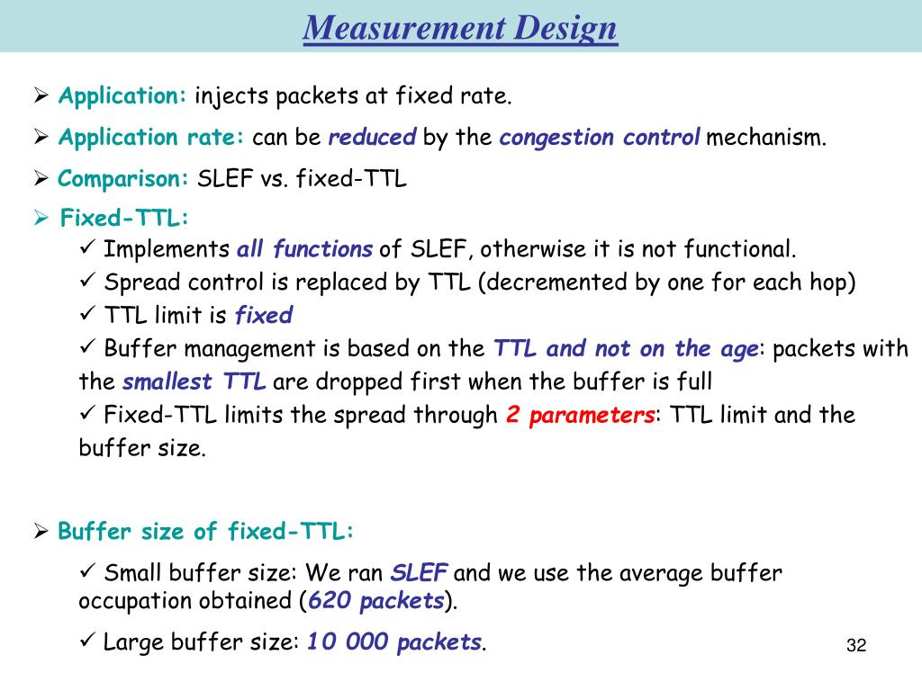Measurement Design