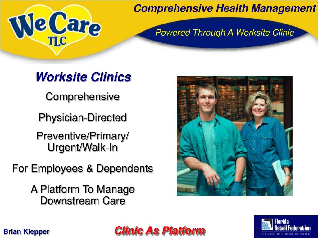 Worksite Clinics