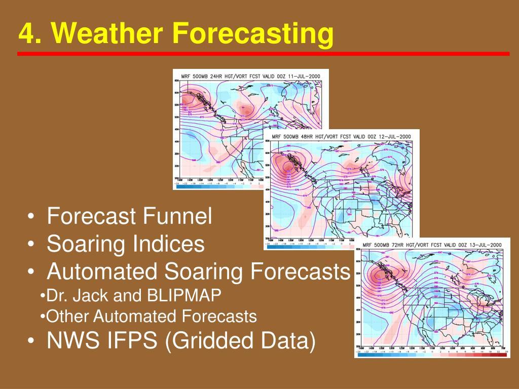 4. Weather Forecasting
