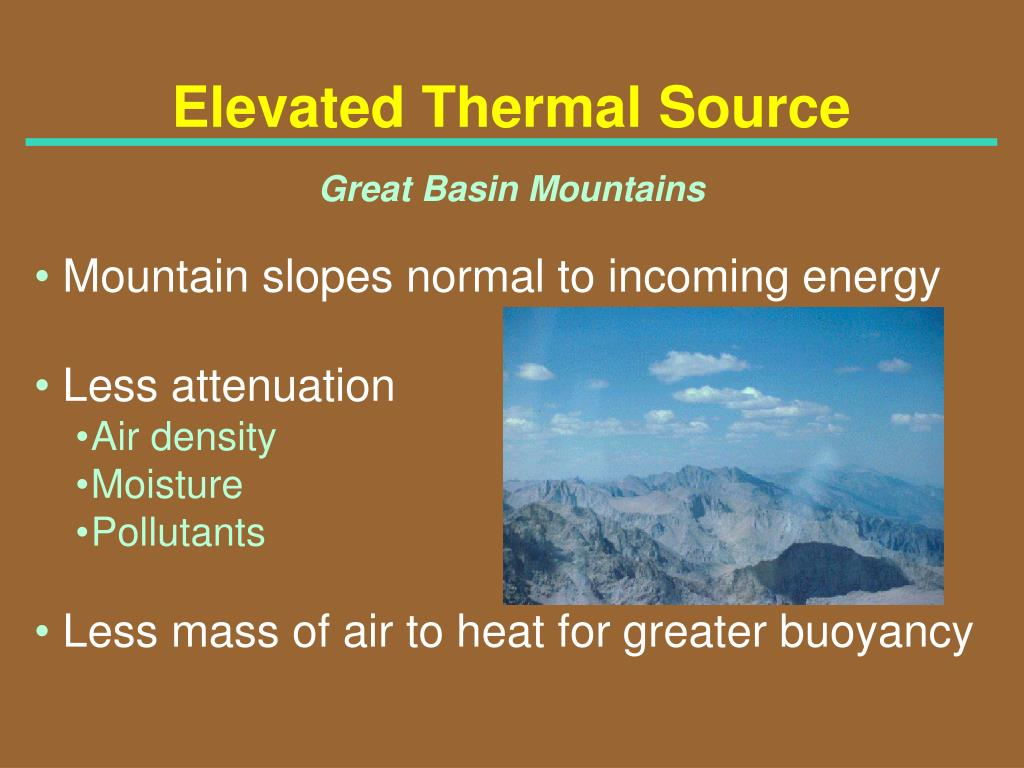 Elevated Thermal Source