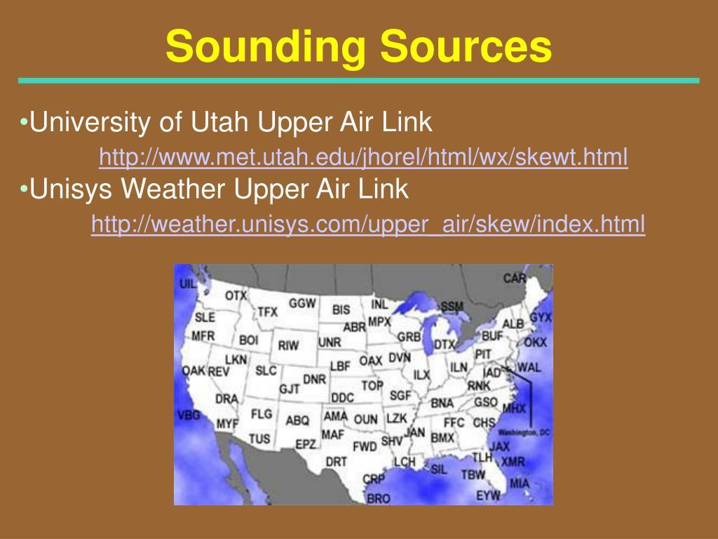 Sounding Sources