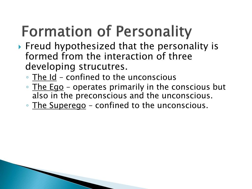 Formation of Personality