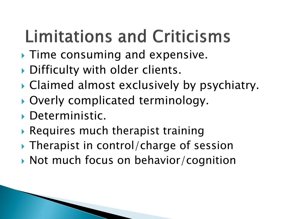 Limitations and Criticisms