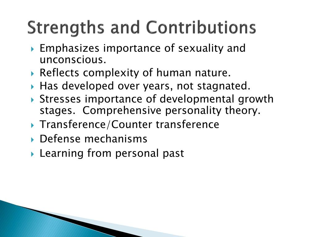 Strengths and Contributions