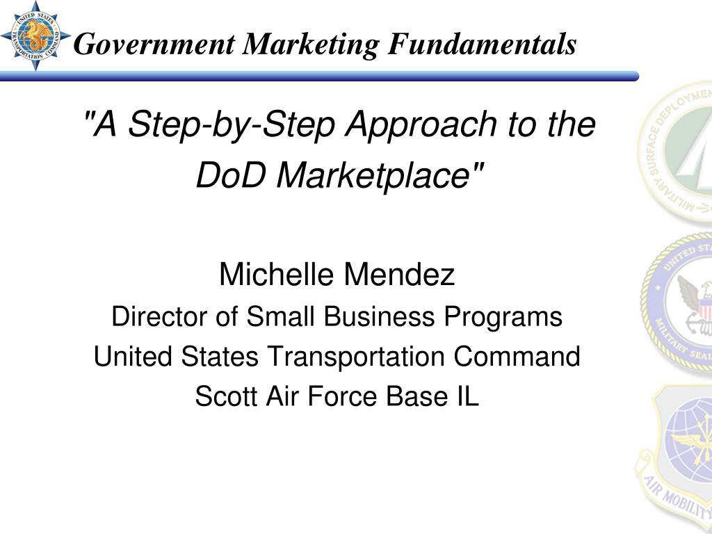 government marketing fundamentals l.