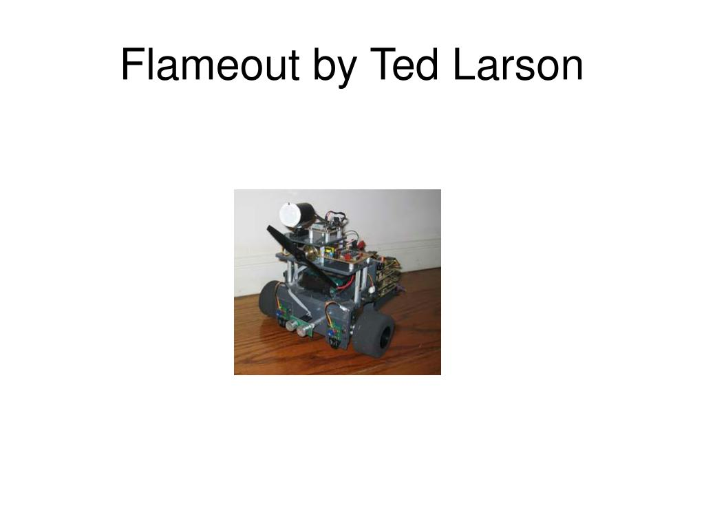 Flameout by Ted Larson
