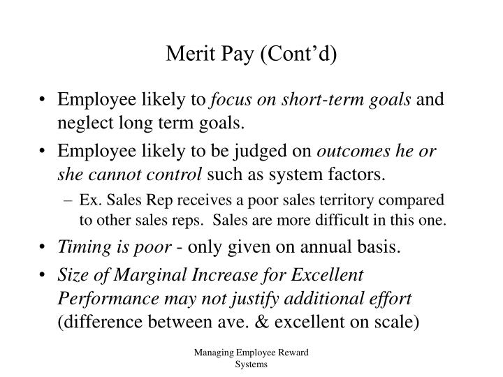 Merit pay cont d1