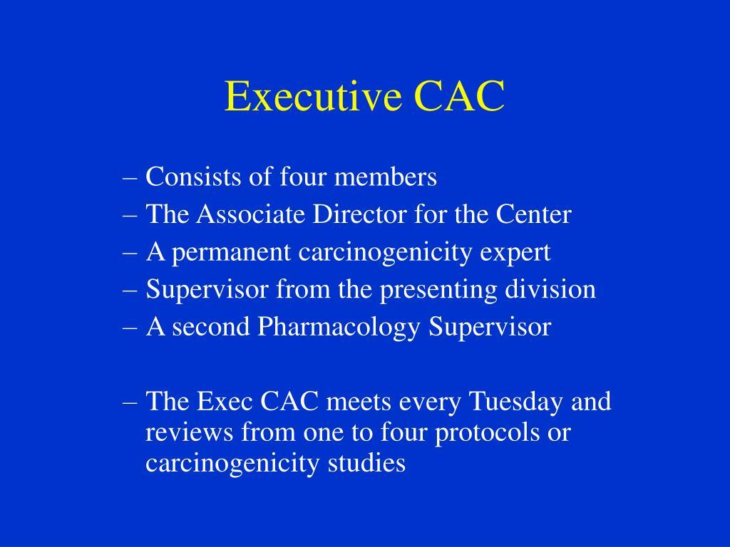 Executive CAC