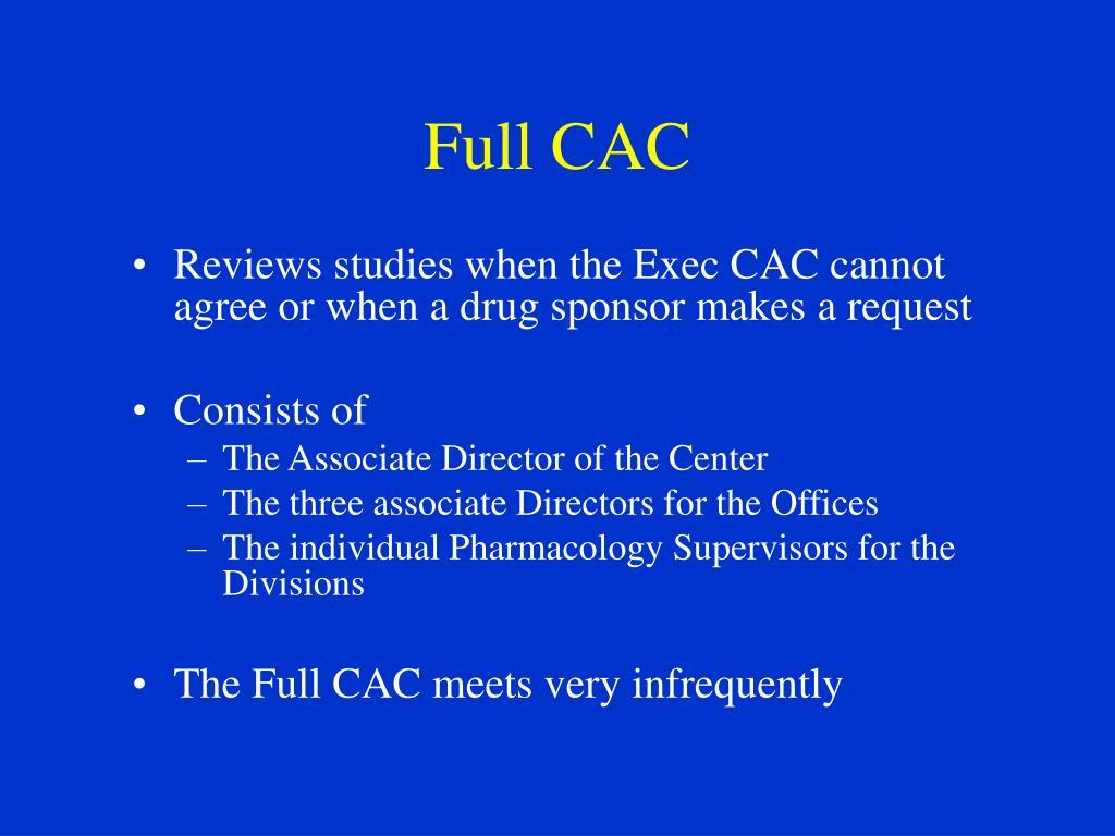 Full CAC