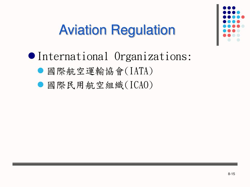 Aviation Regulation