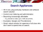 search appliances