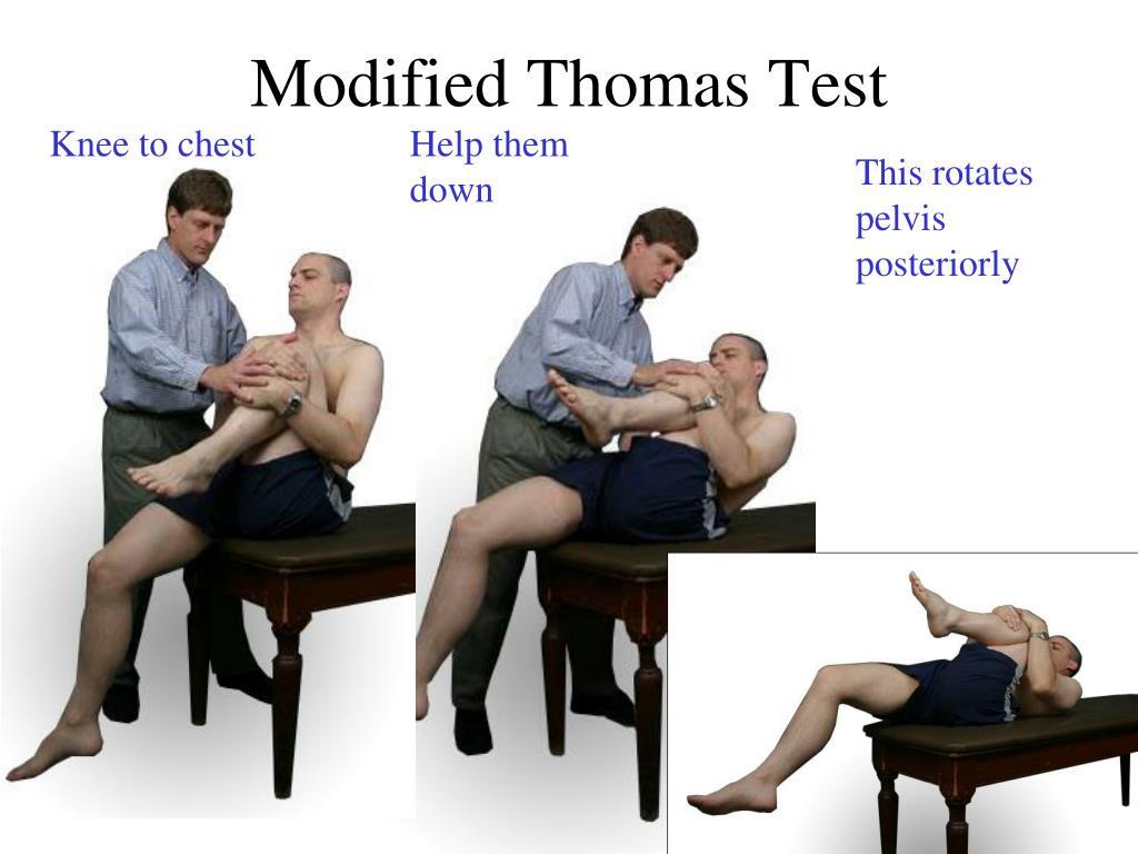 Ppt Modified Thomas Test Powerpoint Presentation Id 370158