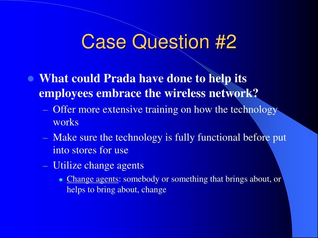 Case Question #2