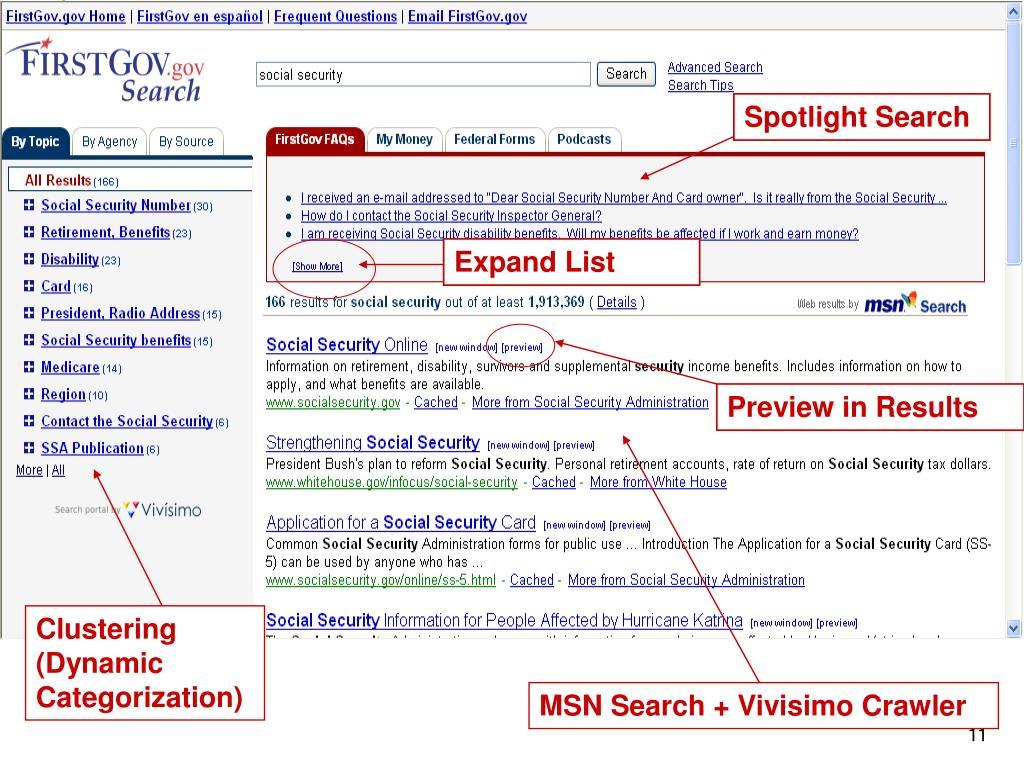 Spotlight Search