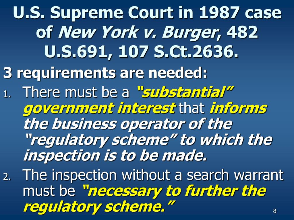 U.S. Supreme Court in 1987 case of