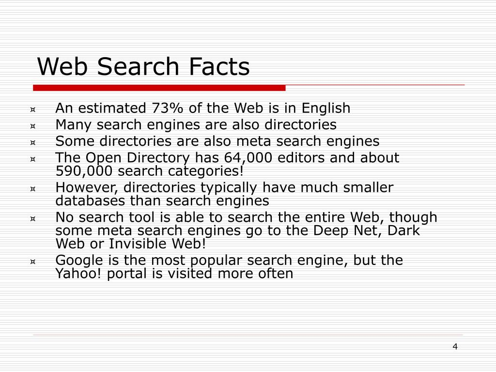 An estimated 73% of the Web is in English