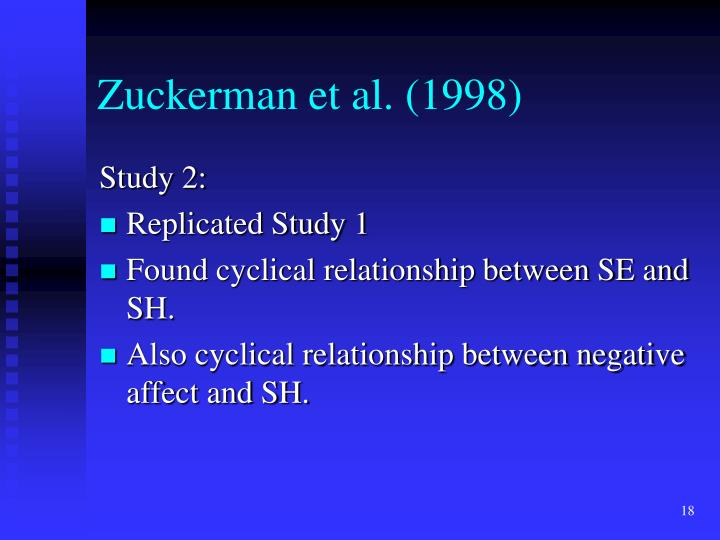 Zuckerman et al. (1998)