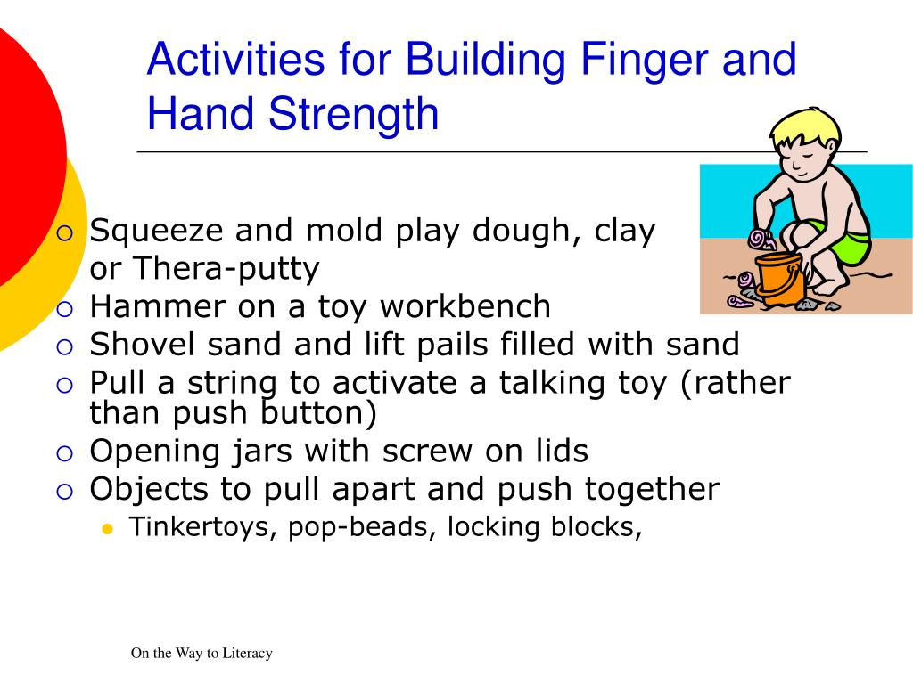 Activities for Building Finger and Hand Strength